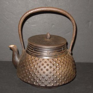 Japanese Antique Iron Teapot Tetsubin