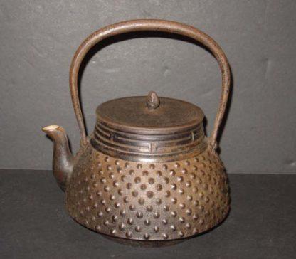Japanese Antique Iron Teapot Tetsubin
