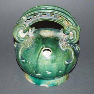 Japanese Tile Okimono