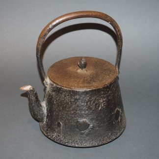 Japanese Antique Nanbu Tetsubin Iron Teapot