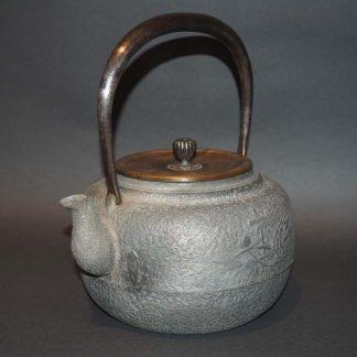 Japanese Antique Aluminium Tea Pot