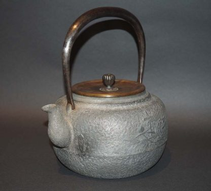 Japanese Antique Aluminium Tea Pot