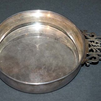Silver 950 Tasting Cup by Moris (Fu福) Kanji Handle