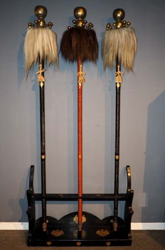 A Set of the Otorige; Was for a Daimyo's Procession (in Edo Period.)