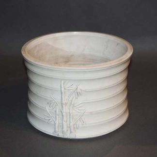 Chinese Antique White Stoneware Pot