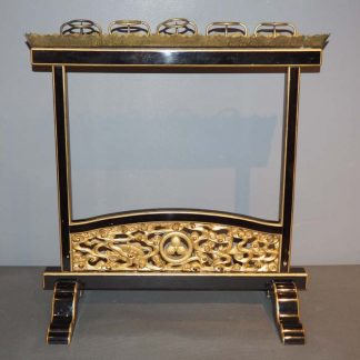 Japanese Antique Lacquer Candle Stand