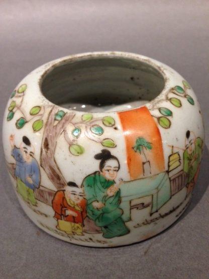 Chinese Antique Brushes Washing Pot
