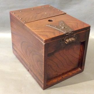 Japanese Antique Fune Tansu Ship Chest Zenibako Money Box