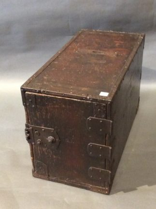 Japanese Antique Zenibako Money Box
