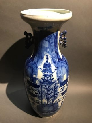 Chinese Antique Ceramic Blue and white Vase