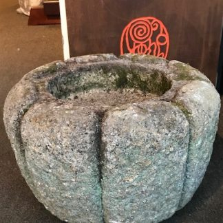 Japanese Antique Garden Stone Tsukubai Water Basin