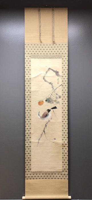 Japanese Vintage Kakejiku Scroll