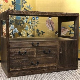 Japanese Vintage Cha Tansu Tea Chest