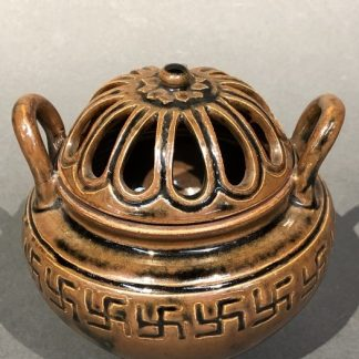 Japanese Antique Porcelain Incense Burner