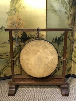 Japanese Antique Taiko Drum