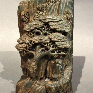 Japanese Antique Carved Jade