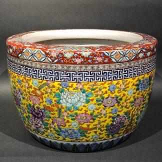 Japanese Antique ceramic Hibachi