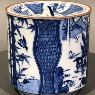 Japanese Ceramic Mizusashi Water Pot