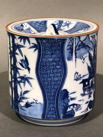 Japanese Ceramic Mizusashi Water Pot