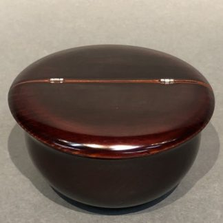 Japanese Lacquer Natsume With Makie Tea Caddy