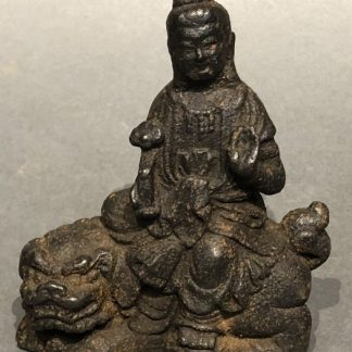 Japanese Antique Metal Figure of the Buddha
