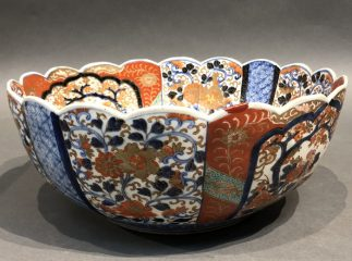 A Large Japanese Antique Imari Bowl