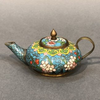 Chinese Antique Cloisonne Tea Pot