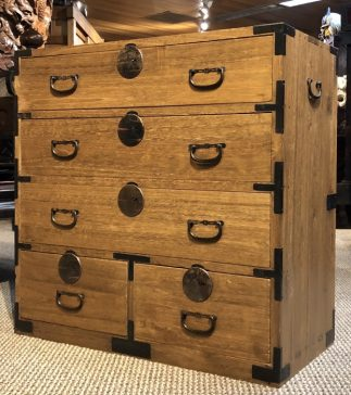 Japanese Antiques Ko Tansu Small Chest