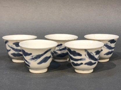A set of Chinese Antique Ceramic Tea Cups