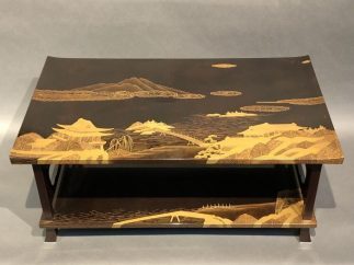 Japanese Antique Lacquer Stand With Makie – Kuraya